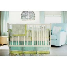 New Arrivals 2-Piece Crib Set (Sprout) - www.rightstart.com