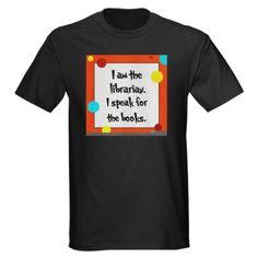Amazon.com: Librarian Seuss Lorax Dark T-Shirt-Caroline