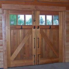 Old Barn Doors With Windows