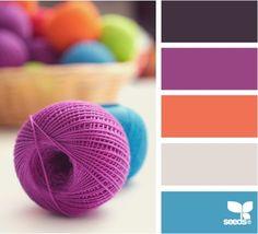 Knitting palette - Design Seeds Color Palette | credit: Design Seeds [ http://design-seeds.com/]