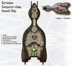 Surronian Conqueror-class Assault Ship
