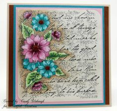 TATTERED COLLAGE CARD by Candy S. - Cards and Paper Crafts at Splitcoaststampers