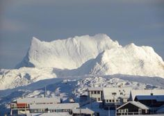 Sermitsiaq. That's the name of the mountain in Nuuk Greenland
