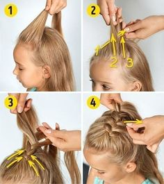 Hairstyles Baby Girl Hairstyles hairstyles You are in the right place about toddler hairstyles girl Easy Little Girl Hairstyles, Flower Girl Hairstyles, Braided Hairstyles, Latest Hairstyles, Prom Hairstyles, Hairstyle Short, School Hairstyles, Latest Haircut, Natural Hairstyles