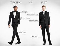 tux vs suit