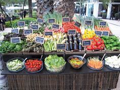 Are you interested in learning about the Raleigh Farmers Market? While many farmers markets exist in the. Farmers Market Display, Produce Market, Market Displays, Produce Displays, Market Baskets, Food Displays, Vegetable Shop, Vegetable Stand, Farmers Market