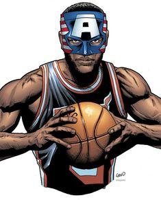 Marvel Comics Creates Masked LeBron James Character
