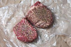 Mushroom/Onion compote for steak. Um yum.