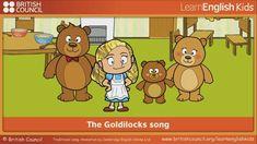 The Goldilocks song - song and animation - LearnEnglish Kids Bears Preschool, Preschool Songs, Fairy Land, Fairy Tales, Bear Songs, Traditional Tales, Goldilocks And The Three Bears, British Council, 3 Bears
