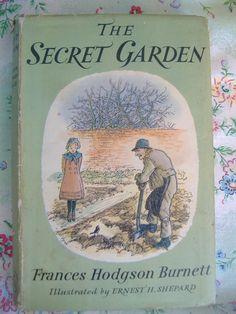The Secret Garden by Frances Hodgson Burnett, illustrated by E.H.Shepard