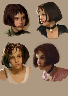 Digital Painting Tutorials, Digital Art Tutorial, Art Tutorials, Digital Portrait, Portrait Art, Art Reference Poses, Art Techniques, Oeuvre D'art, Art Sketches