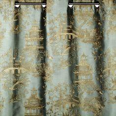 Green SHANGAI Curtain