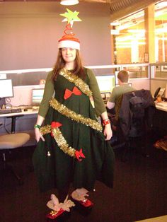 Christmas Tree - 2008 - mixing two of my fave holidays.