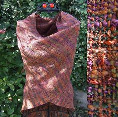 Warm Spicey Shades Handwoven Wrap - Scarves, Wraps & Accessories - The Crafty Cailín
