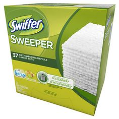 PROCTER and GAMBLE 82704 Mops and Mop Accessories Swifter Sweeper Sweet Citrus and Zest Dry Sweeping Refills (Pack of 37)