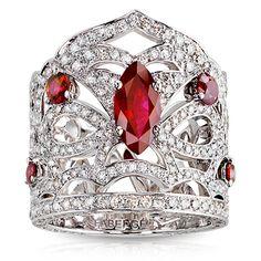Desire....Fabergé, Kokoshnik Ring
