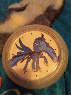 DIY clock Luna edition