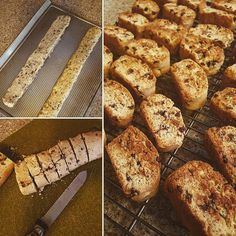 #glutenfree Biscotti anyone? New stove and oven romance continues.  #baking #meditation