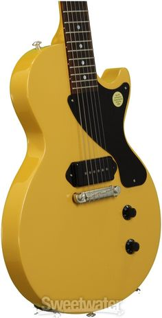 Gibson Les Paul Junior - Gloss Yellow | Sweetwater.com
