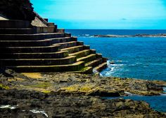 Stairs to Atlantic Ocean at Kilkee beach in Ireland. Ireland Beach, Atlantic Ocean, Stairs, Photography, Stairway, Photograph, Fotografie, Staircases, Photoshoot