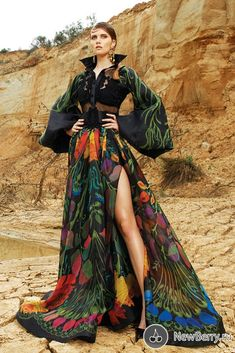 Breathtaking Fouad Sarkis Couture 2017 - Be Modish High Fashion, Fashion Show, Fashion Outfits, Fashion Design, Designer Gowns, Mode Style, Beautiful Gowns, Colorful Fashion, Fashion Sketches