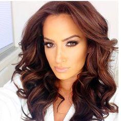 Full curls, full volume, big hair, curly, big curls, volume, brunette, style, hairstyle, stylist, hairstylists, hairstyles, brown hair, dark hair, long hair
