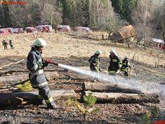 Waldbrand in Wielfresen #feuerwehr #wald #forest #fire #firemen