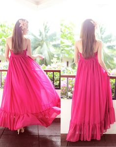 backless maxi dresses from instylegirls