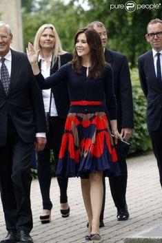 Crown Princess Mary of Denmark, June 2012