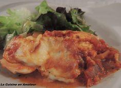 La cuisine en amateur de Maryline: Oeufs durs gratinés en sauce tomate