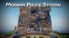 minecraft police station - Google Search