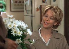 Kathleen Kelly: I love daisies.   Joe Fox: You told me.   Kathleen Kelly: They're so friendly. Don't you think daisies are the friendliest flower? Joe Fox: I do.