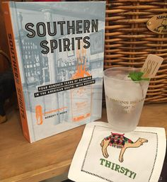 TGIF! We're ready to mix up a yummy Southern cocktail from this great new book! It's 5 o'clock somewhere! #tfssi #stsimonsisland #seaisland #happyhour #southern #cocktails