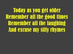 Friend Birthday Poem