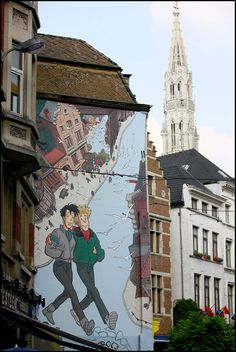 There´re still places available for the Brussels Comics Festival guided tours in French, Dutch & English! Join us in one of the 4 info stands & discover everything about Brussels Comic Strips!