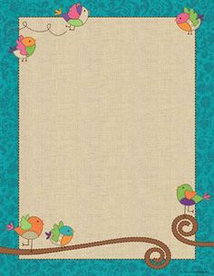 Bebop Birdie Letterhead - A little birdie told us you're in need of #classroom décor that's charming, colorful, and cheery… Look no further! Our exclusive Bebop Birdie collection features an enticing combination of patterns, colors, and textures for a look that's delightfully dynamic and diverse. Blending trendy burlap accents with classic whimsical designs, Bebop Birdie gives you the best of stylish décor with timeless vintage appeal. What a fine feathered friend! #teachers