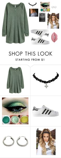 """""""Untitled #83"""" by autumn-geist on Polyvore featuring adidas, NOVICA and Lime Crime"""