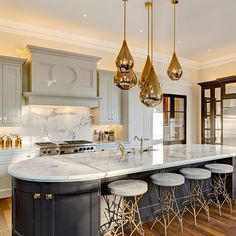 News - Skogsberg&Smart Elegant Kitchens, Luxury Kitchens, Beautiful Kitchens, Home Kitchens, Luxury Kitchen Design, Interior Design Kitchen, Küchen Design, Home Design, Luxury Dining Room