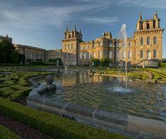 Blenheim Palace - Formal Gardens