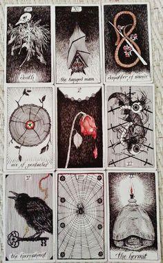 Tarot card art - i should make my own set of Tarot cards one day...