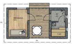 Container Shop, Cabin Design, Floor Plans, Diagram, Cottage, Tiny Houses, Caravan, Shops, Home Decor