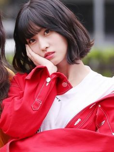 Twice-Momo 180413 KBS Music Bank