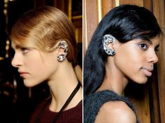 Ear Cuffs / Dries Van Noten