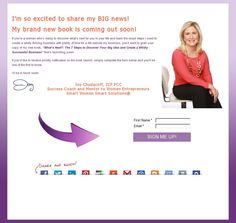 SIGN UP Today and begin Your Journey! ♥  http://SmartWomenSolutions.com/WhatsNext