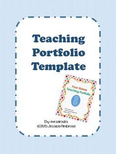24 Best Teacher Portfolio Images Teacher Portfolio