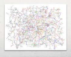 The World Metro Map by G Cid — Kickstarter