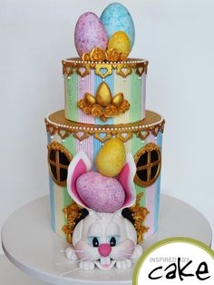 Easter Rabbit by Inspired by Cake - Vanessa