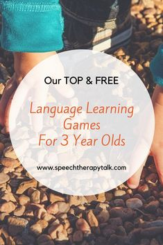 This page has many great ideas and games to help develop their speech and language skills. Some games are appropriate for children as young as 2 years old. If you don't think your child ne Language Games For Kids, Language Activities, Speech And Language, Speech Activities, English Activities, Speech Therapy Activities, Montessori Activities, Educational Activities, Activities For 2 Year Olds