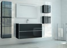 The Planet series is one of our most modern and vanguard #bathroom #furniture collections.