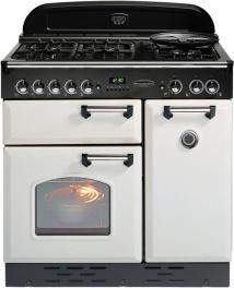 Rangemaster CLASSIC 90 GAS WHITE BRA 90cm Gas Range Cooker - £1,471.24